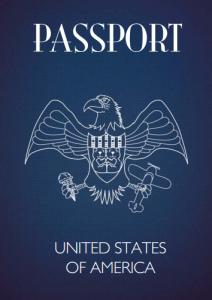Teddy Bear Passport USA