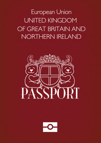 Teddy Bear Passport UK