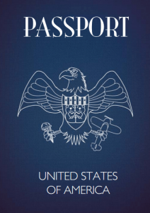 Teddy Bear Passport USA